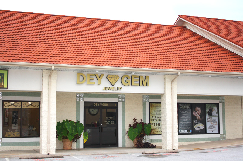 DEY GEM Jewelry Building Exterior View 2